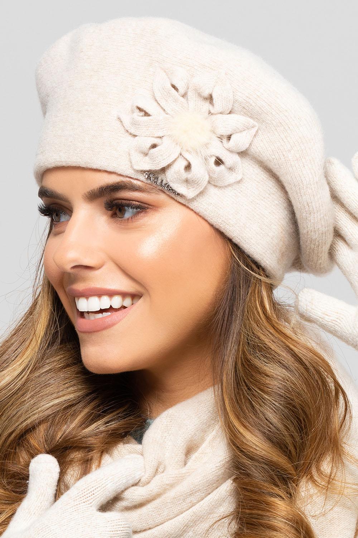 Kamea  Baskenmütze Kopfbedeckung Herbst Winter Sewilla